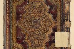 Az OSZK Cod. Lat. 438 jelzetű kódexének háttáblája (Végh Gyula akvarellje)