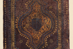 Az OSZK Cod. Lat. 423. jelzetű kódexének háttáblája (Végh Gyula akvarellje)